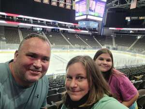Ray attended Jacksonville Icemen vs. Wheeling Nailers - ECHL on May 7th 2021 via VetTix