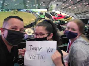 Carl Y. attended PBR Unleash the Beast on May 2nd 2021 via VetTix