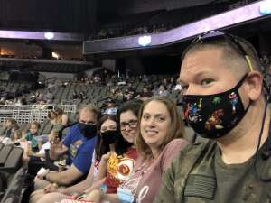 Ken attended PBR Unleash the Beast on May 2nd 2021 via VetTix