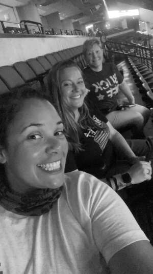Tiffany Ray attended PBR Unleash the Beast on May 2nd 2021 via VetTix
