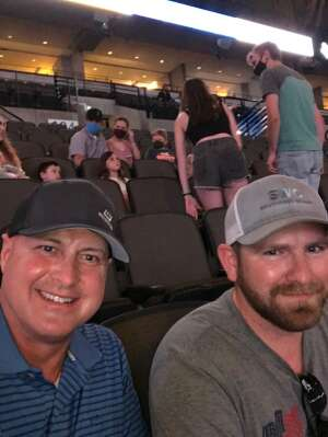 Rick Arnold attended PBR Unleash the Beast on May 1st 2021 via VetTix