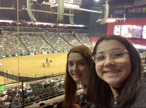 Callie attended PBR Unleash the Beast on May 1st 2021 via VetTix