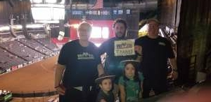 John G. attended PBR Unleash the Beast on May 1st 2021 via VetTix