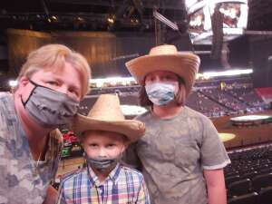 Dawn attended PBR Unleash the Beast on May 1st 2021 via VetTix