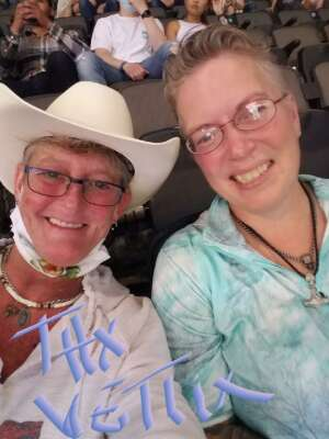 Elizabeth attended PBR Unleash the Beast on May 1st 2021 via VetTix