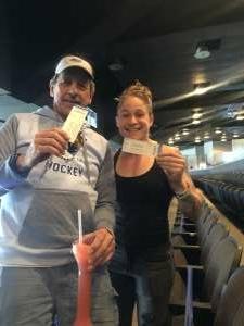 Amber attended Jacksonville Icemen vs. Wheeling Nailers - ECHL on May 9th 2021 via VetTix
