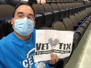 Ruben L. attended Jacksonville Icemen vs. Wheeling Nailers - ECHL on May 9th 2021 via VetTix