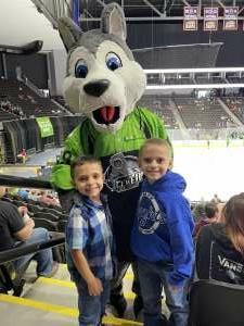 Tink attended Jacksonville Icemen vs. Wheeling Nailers - ECHL on May 9th 2021 via VetTix