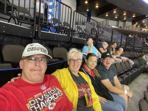 John attended Jacksonville Icemen vs. Wheeling Nailers - ECHL on May 9th 2021 via VetTix