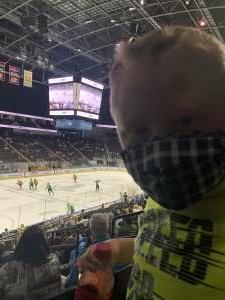 Brian Allen attended Jacksonville Icemen vs. Wheeling Nailers - ECHL on May 9th 2021 via VetTix