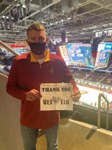 John attended Cleveland Cavaliers vs. Portland Trail Blazers - NBA on May 5th 2021 via VetTix