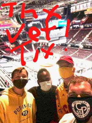 Bill Franklin attended Cleveland Cavaliers vs. Portland Trail Blazers - NBA on May 5th 2021 via VetTix