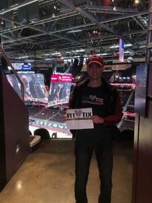 Anthony attended Cleveland Cavaliers vs. Portland Trail Blazers - NBA on May 5th 2021 via VetTix