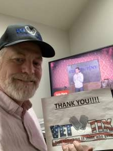 David attended The World Series of Comedy Presents Round 2 - Virtual Event on May 5th 2021 via VetTix