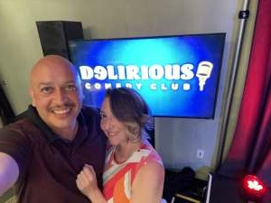 Tom attended Delirious Comedy Club on May 6th 2021 via VetTix