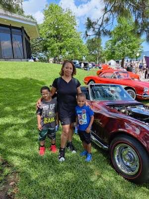 Vikki attended 25th Annual Keels & Wheels Concours D'elegance on May 1st 2021 via VetTix