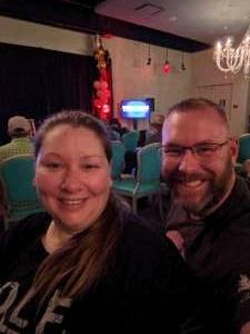 Jill attended Special Event Week with Jamie Kennedy on May 30th 2021 via VetTix