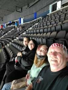 Rich attended Jacksonville Icemen vs. South Carolina Stingrays - ECHL - Military Appreciation Weekend! on May 15th 2021 via VetTix