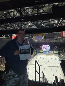 Bill attended Jacksonville Icemen vs. South Carolina Stingrays - ECHL - Military Appreciation Weekend! on May 15th 2021 via VetTix