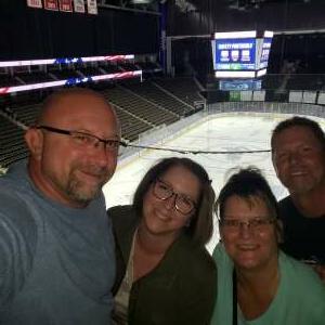 Rob attended Jacksonville Icemen vs. South Carolina Stingrays - ECHL - Military Appreciation Weekend! on May 15th 2021 via VetTix