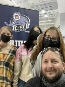 Mike attended Jacksonville Icemen vs. South Carolina Stingrays - ECHL - Military Appreciation Weekend! on May 15th 2021 via VetTix