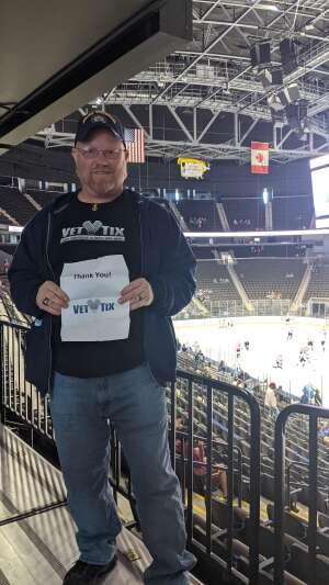 Adam attended Jacksonville Icemen vs. South Carolina Stingrays - ECHL - Military Appreciation Weekend! on May 15th 2021 via VetTix