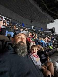 Chris attended Jacksonville Icemen vs. South Carolina Stingrays - ECHL - Military Appreciation Weekend! on May 15th 2021 via VetTix