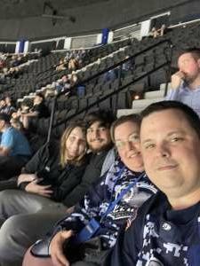Shane Garner attended Jacksonville Icemen vs. South Carolina Stingrays - ECHL - Military Appreciation Weekend! on May 15th 2021 via VetTix