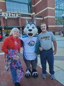 Paul and Ava  Baker attended Jacksonville Icemen vs. South Carolina Stingrays - ECHL - Military Appreciation Weekend! on May 15th 2021 via VetTix