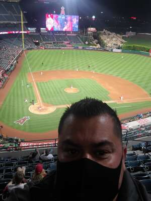 Christian  attended Los Angeles Angels vs Tampa Bay Rays - MLB on May 6th 2021 via VetTix