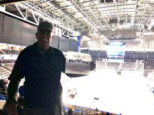 Ray Hall attended Jacksonville Icemen vs. Florida Everblades - ECHL - Military Appreciation Weekend! on May 16th 2021 via VetTix