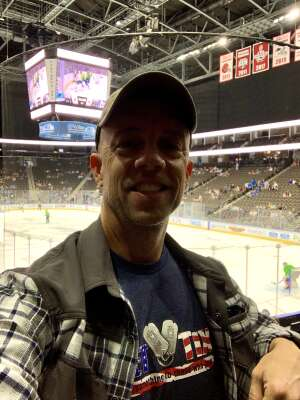 Scott K. attended Jacksonville Icemen vs. Florida Everblades - ECHL - Military Appreciation Weekend! on May 16th 2021 via VetTix