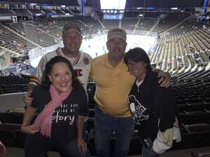 Greg attended Jacksonville Icemen vs. Florida Everblades - ECHL - Military Appreciation Weekend! on May 16th 2021 via VetTix