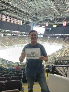 Gary A attended Jacksonville Icemen vs. Florida Everblades - ECHL - Military Appreciation Weekend! on May 16th 2021 via VetTix