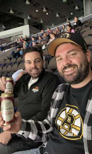 Justine  attended Jacksonville Icemen vs. Florida Everblades - ECHL - Military Appreciation Weekend! on May 16th 2021 via VetTix