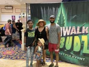 Shandi attended Boardwalk Budz on Jun 25th 2021 via VetTix