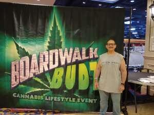 NJ veteran attended Boardwalk Budz on Jun 25th 2021 via VetTix