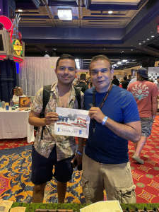 Dante Dorival attended Boardwalk Budz on Jun 25th 2021 via VetTix