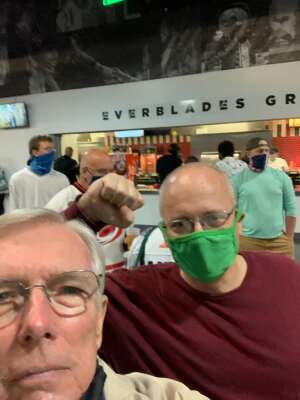 Dick Rourke attended Florida Everblades vs. Jacksonville Icemen - ECHL on May 12th 2021 via VetTix