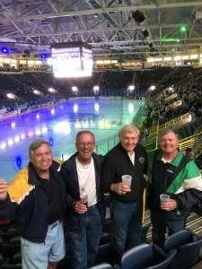 Bob attended Florida Everblades vs. Jacksonville Icemen - ECHL on May 12th 2021 via VetTix