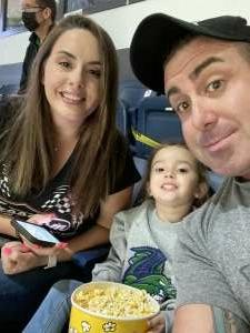 SFC Alex Chierici  attended Florida Everblades vs. Jacksonville Icemen - ECHL on May 12th 2021 via VetTix