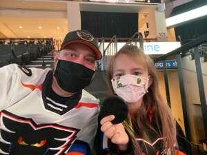 Matt attended Lehigh Valley Phantoms vs. Hershey Bears - AHL on May 5th 2021 via VetTix