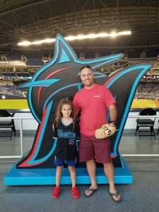 Mr. G attended Miami Marlins vs. Arizona Diamondbacks - MLB on May 5th 2021 via VetTix