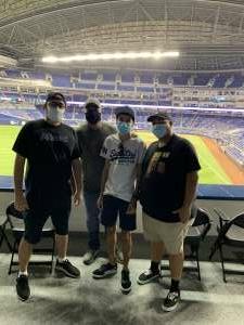 Tony attended Miami Marlins vs. Arizona Diamondbacks - MLB on May 5th 2021 via VetTix