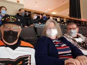 Ken  attended Lehigh Valley Phantoms vs. Wilkes-barre/scranton Penguins - AHL on May 9th 2021 via VetTix