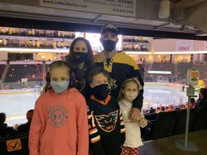 Shane attended Lehigh Valley Phantoms vs. Wilkes-barre/scranton Penguins - AHL on May 9th 2021 via VetTix