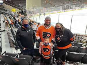 Chris N attended Lehigh Valley Phantoms vs. Wilkes-barre/scranton Penguins - AHL on May 9th 2021 via VetTix