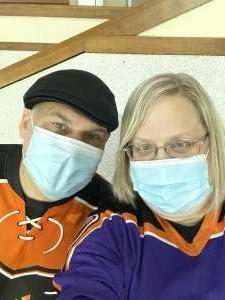 Todd attended Lehigh Valley Phantoms vs. Wilkes-barre/scranton Penguins - AHL on May 9th 2021 via VetTix