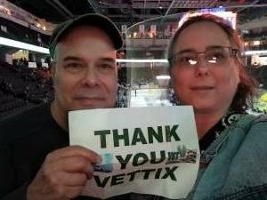 JK attended Lehigh Valley Phantoms vs. Wilkes-barre/scranton Penguins - AHL on May 9th 2021 via VetTix