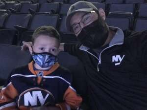 Jon attended New York Islanders vs. New Jersey Devils - NHL on May 6th 2021 via VetTix